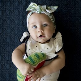 Tropical Paradise Newborn Headwrap