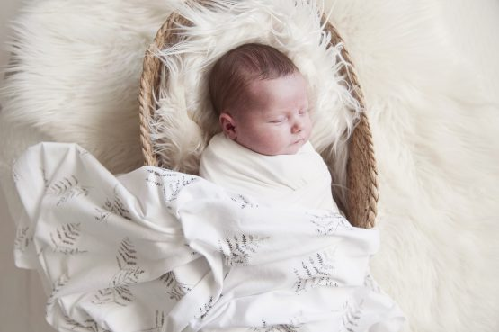 Forest Fern Swaddle