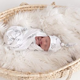 Forest Fern Swaddle Blanket