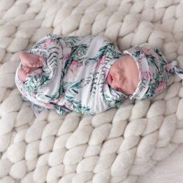 Where the Heart is Protea Swaddle