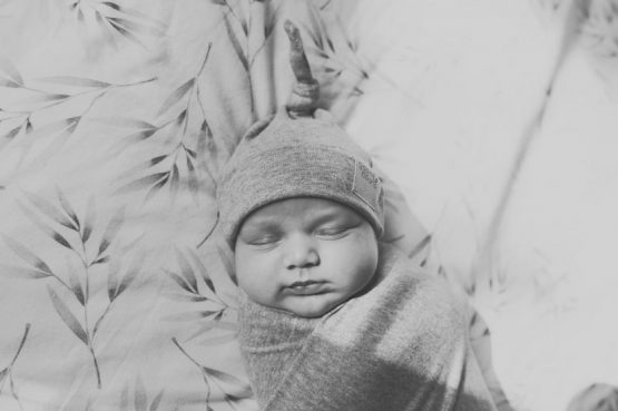 Grey Mist Swaddle Blanket