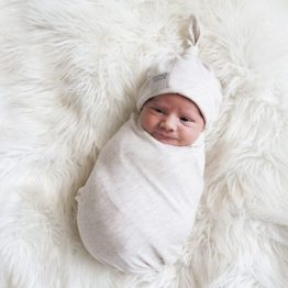 Wild Grass Swaddle Blanket