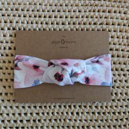 Wildflower Rose Knot Headband