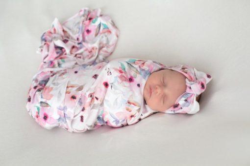 Wildflower Swaddle Blanket