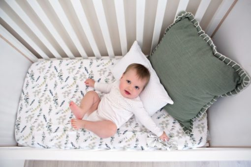 Enchanted Forest Fitted Cot Sheet