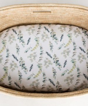 Enchanted Forest Dual Fitted Bassinet & Change Mat Cover