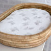 Forest Fern Fitted Bassinet & Change Mat Cover