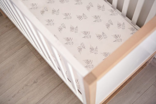 Forest Fern Fitted Cot Sheet