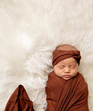 Cruise Rust Swaddle Set