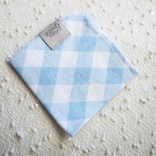 'Brushed Denim Gingham' Lovey