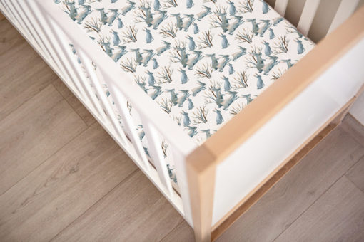 Sweet Wanderings Bunny Fitted Cot Sheet